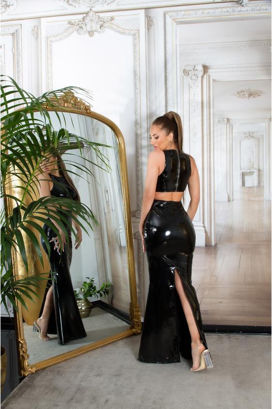 Pilkos spalvos suknelė MARTA