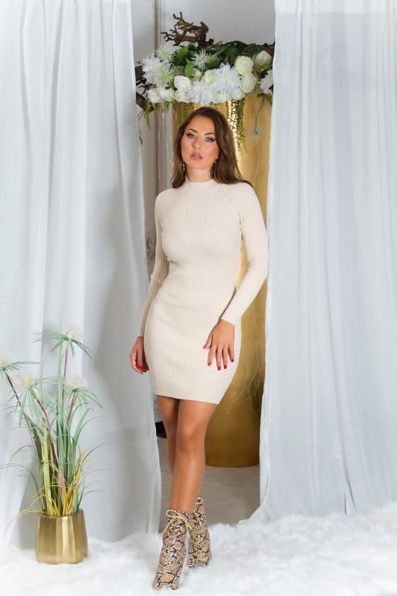 Pilkos spalvos suknelė MARTA_215315
