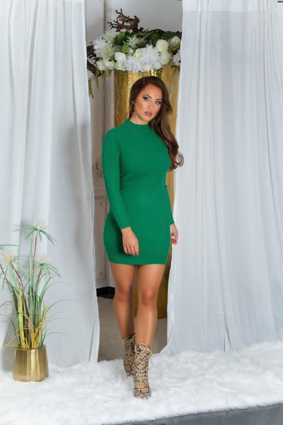 """Mėlynos spalvos plisuota suknelė """"Izabelė""""_215388"""