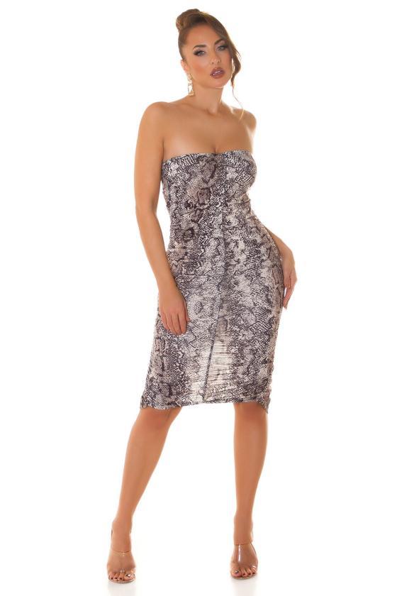 """Raudonos spalvos plisuota suknelė """"Izabelė"""""""