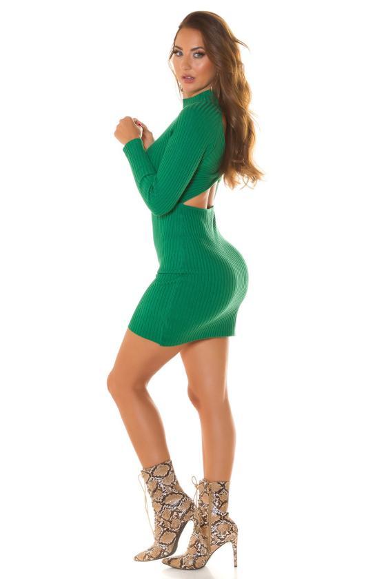 """Raudonos spalvos plisuota suknelė """"Izabelė""""_215393"""