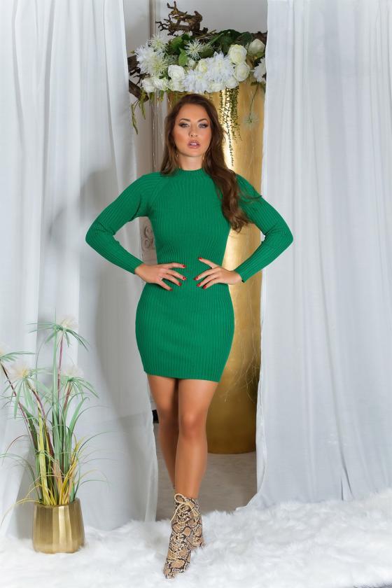 Purvinos rožinės spalvos nėriniuota suknelė trumpomis rankovėmis