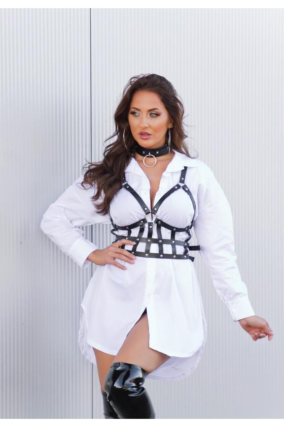 Patogi laisvalaikio suknelė su gobtuvu_215519
