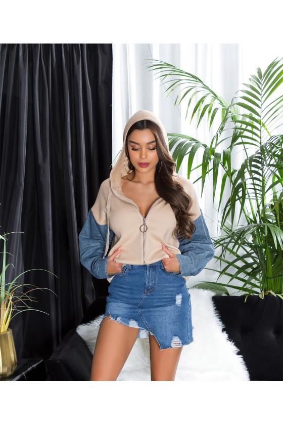 Rausvos spalvos suknelė MARINA_215706