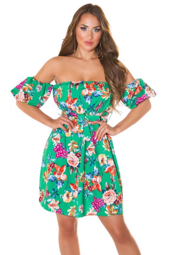 Rausvos spalvos suknelė MARINA_215707