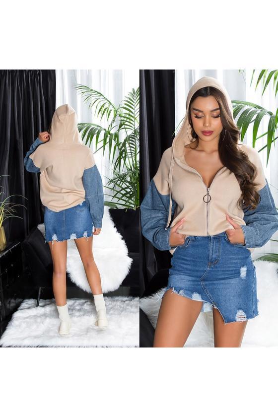 Rausvos spalvos suknelė MARINA_215708
