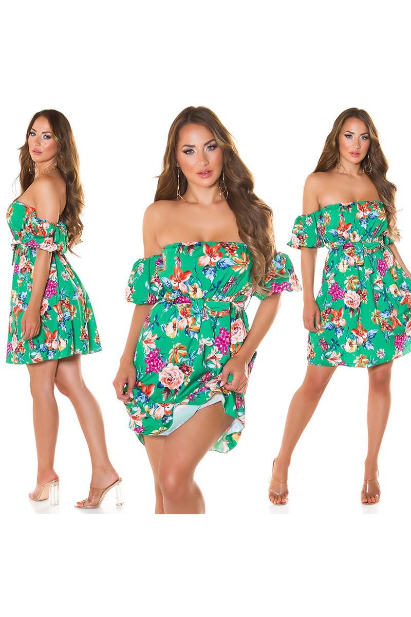 Rausvos spalvos suknelė MARINA_215709