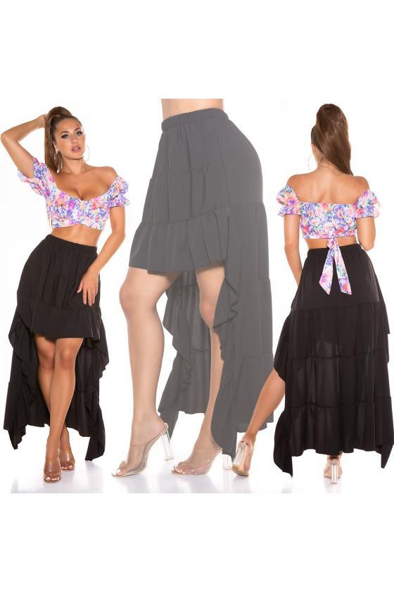 Žalios spalvos nėriniuota suknelė trumpomis rankovėmis_216057