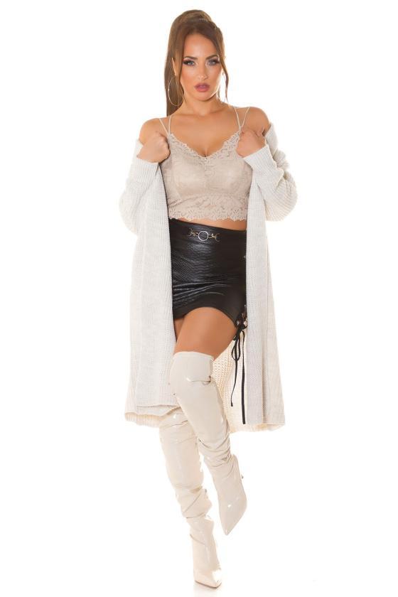 Žavi žalios spalvos ties liemeniu surišama suknelė_216310
