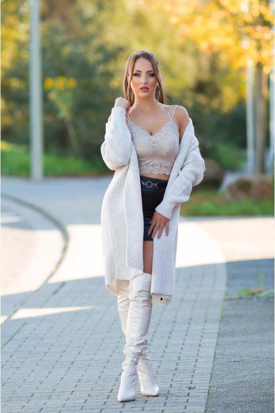 Karališkos mėlynos spalvos suknelė EMILY_216329
