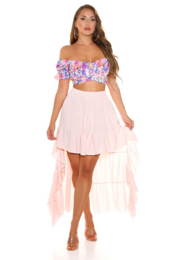 Elegantiška raudonos spalvos suknelė
