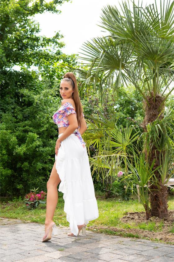 """Žalios spalvos marškinių tipo suknelė """" Sandy"""""""