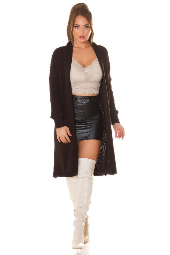 Ilga raudonos spalvos suknelė LIDIA_216391