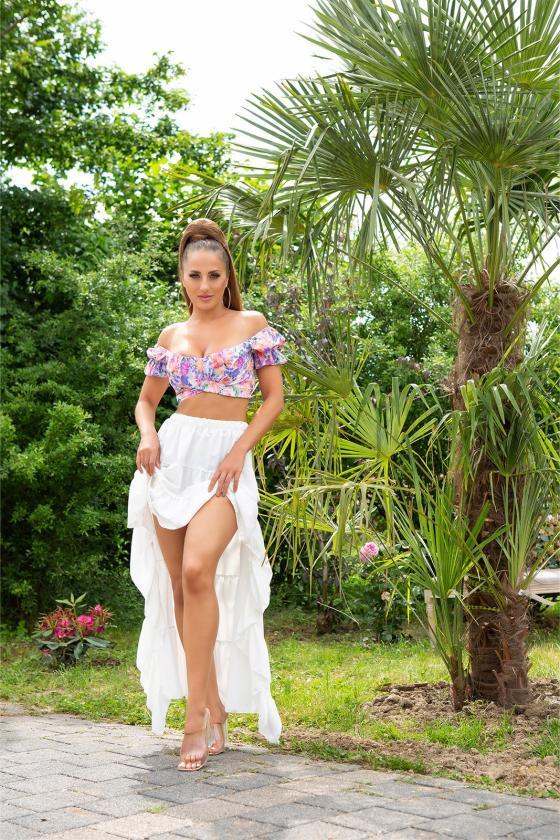 Ilga žalios spalvos suknelė LIDIA_216398