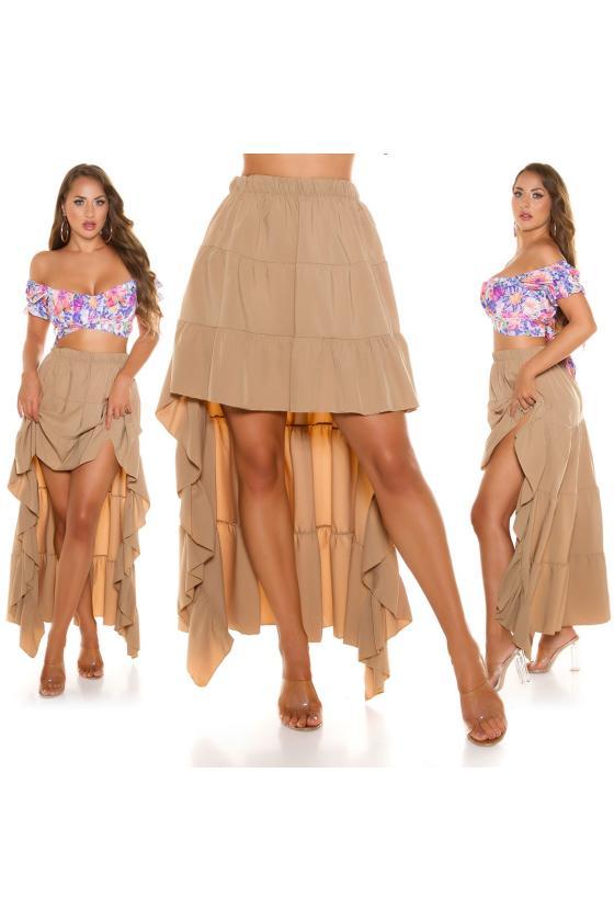 Laisvo modelio suknelė dekoruota laikraščio motyvais_216416