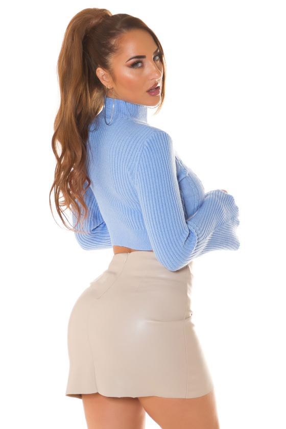 Laisvo modelio suknelė dekoruota laikraščio motyvais_216417