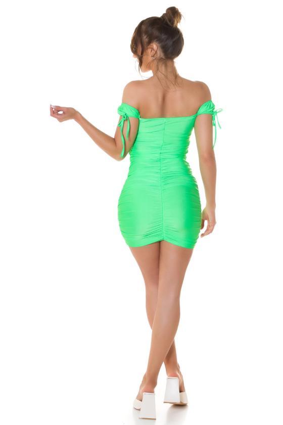 Stilinga suknelė su kišenėmis ir golfu 131-9_216443