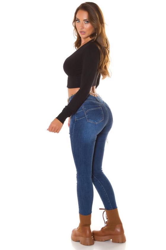 Raudonos spalvos midi suknelė FI663