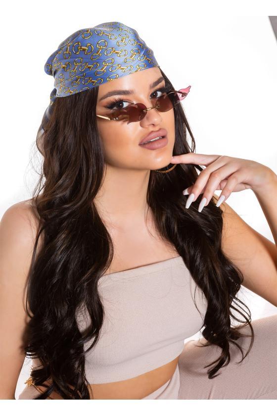 Raudonos spalvos suknelė FI661_218814
