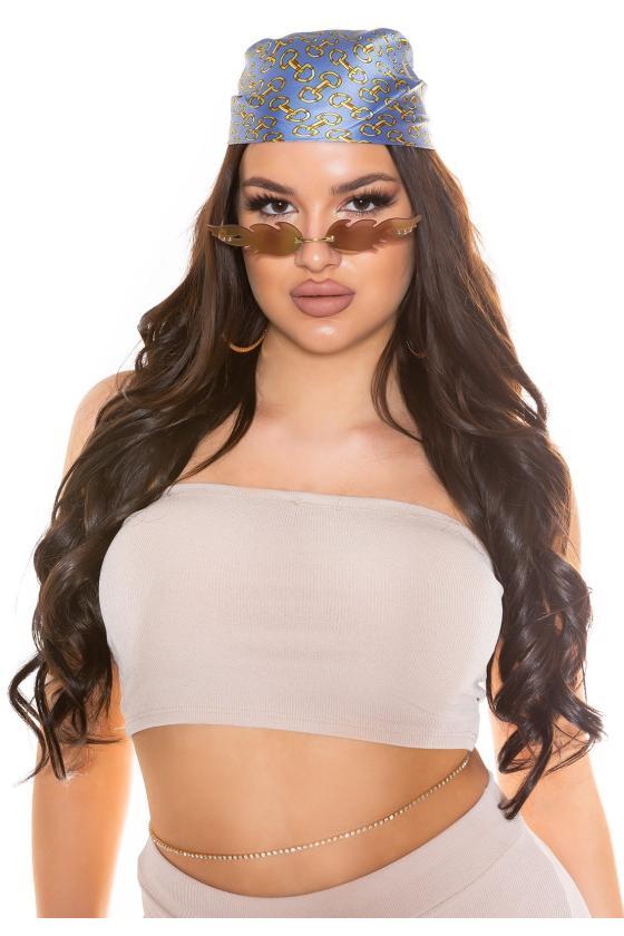 Violetinės spalvos suknelė FI661_218828