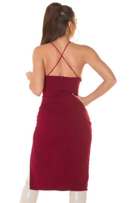 Juodos spalvos suknelė FI657_218841