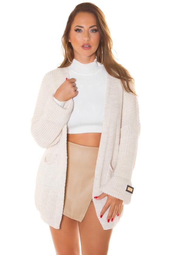 Pilkos spalvos dviejų dalių kompletas kepurė+šalikas_219055