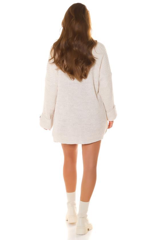Juodos spalvos dviejų dalių kompletas kepurė+šalikas