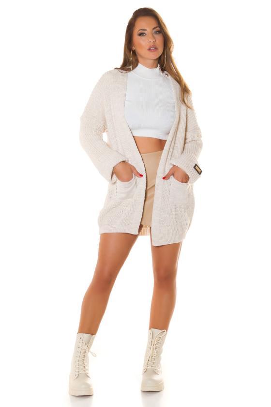 Raudonos spalvos dviejų dalių kompletas kepurė+šalikas_219084