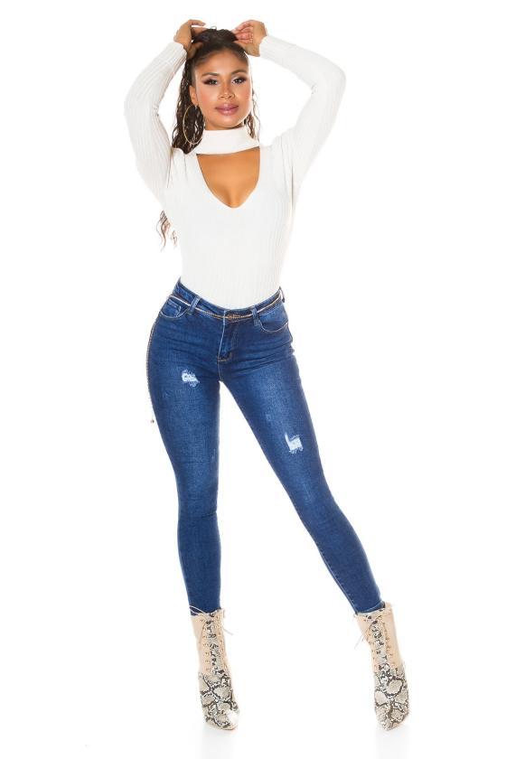 Odos imitacijos juodos spalvos sijonas