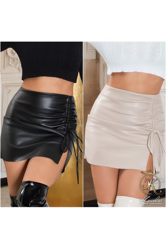 Žalios spalvos mini suknelė_219114