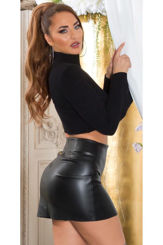 Raudonos spalvos suknelė su kaspinu nugaroje_219121