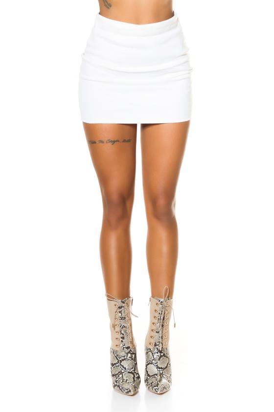 Raudonos spalvos suknelė su kaspinu nugaroje_219122