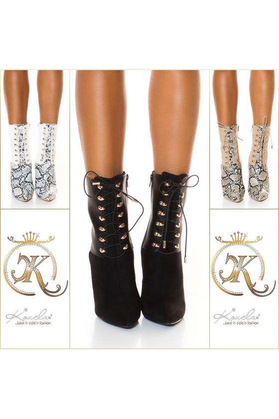 Juodos spalvos žieminė striukė FIFI_219410