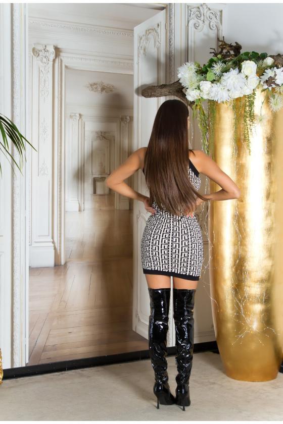 Juodos spalvos laisvalaikio kostiumas su pašiltinimu_219456