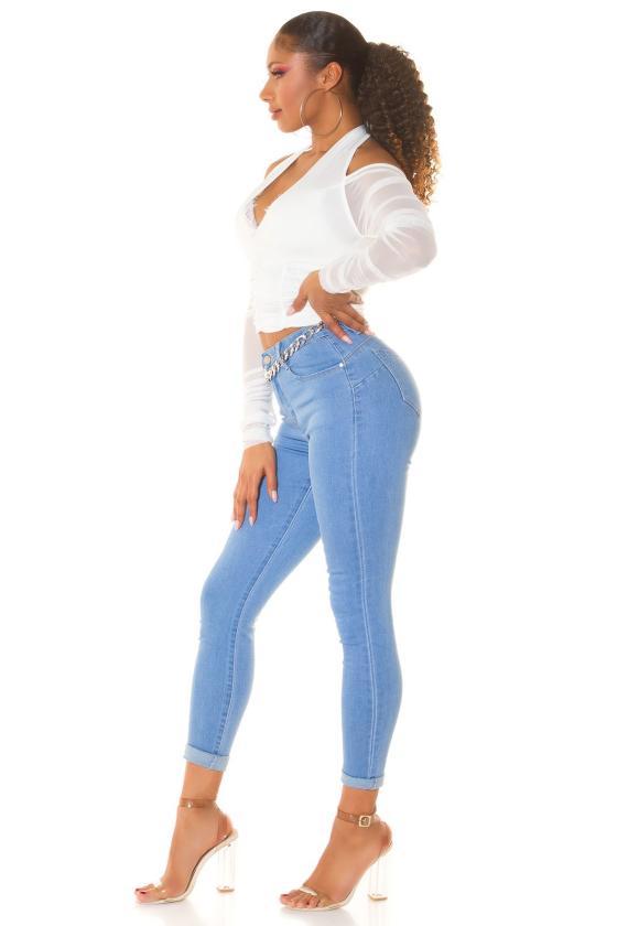 Tamsiai mėlynos spalvos laisvalaikio kostiumas su pašiltinimu_219464