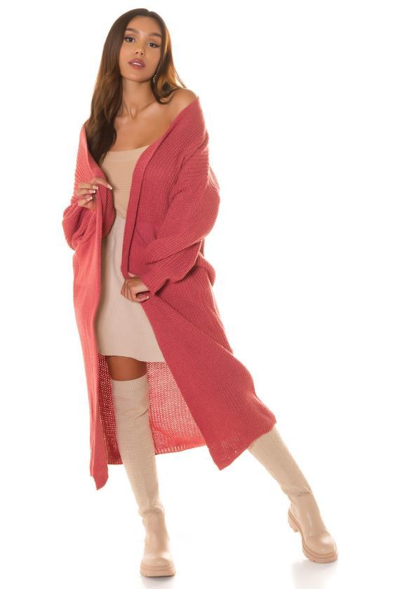 Alyvų spalvos megzta suknelė_219586