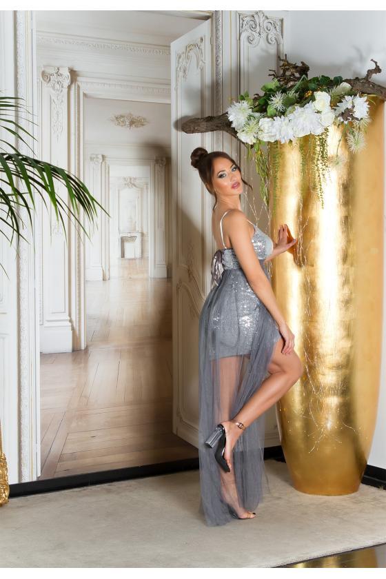 Mėlynos spalvos oversize modelio džemperis_220672