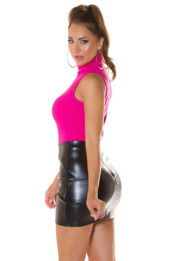 Smėlio spalvos veliūrinė suknelė JOLA_221546