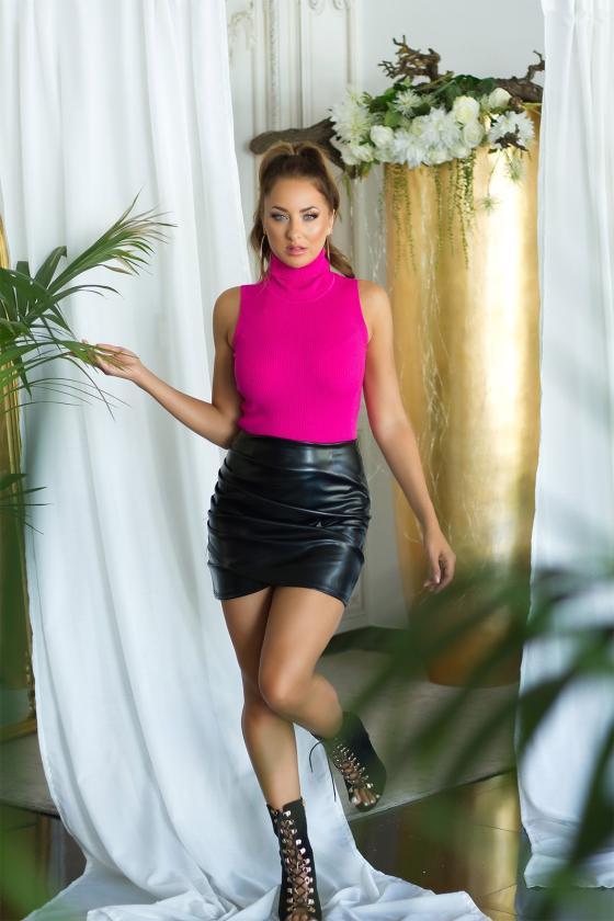 Kapučino spalvos dviejų dalių kompletas kepurė+šalikas_221552