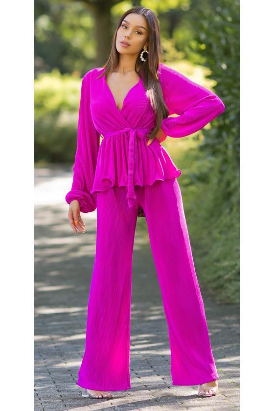 Odos imitacijos juodos spalvos push up kelnės su užtrauktuku priekyje_222010