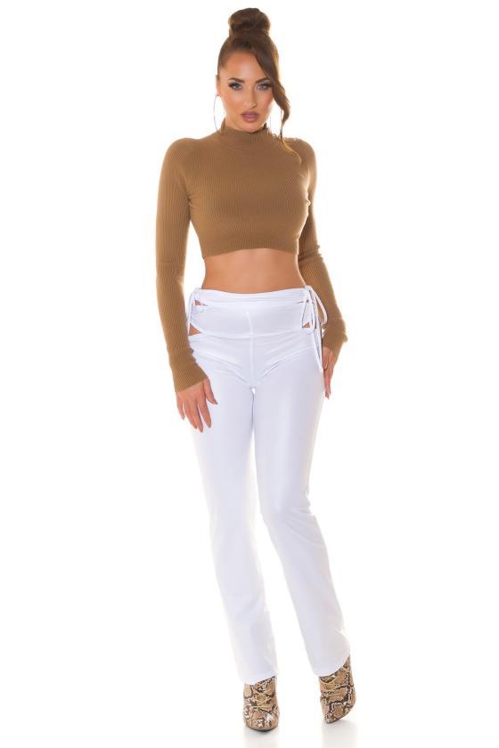 Šlaunų aukščio batai, modelis 149653 Inello_240337