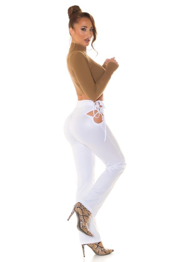 Šlaunų aukščio batai, modelis 149653 Inello_240348