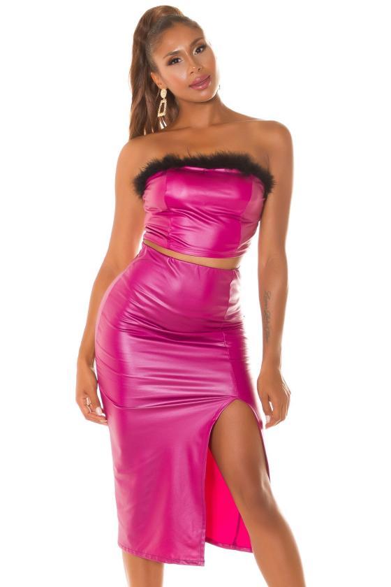 Juodos spalvos oversize modelio suknelė_242120