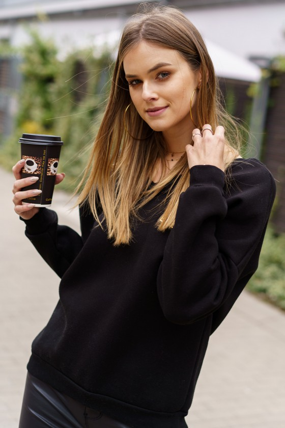 Juodos spalvos šiltas džemperis_242181