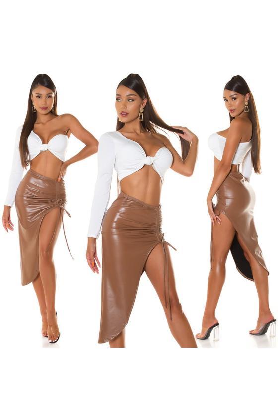 Baltos spalvos šiltas džemperis_242188