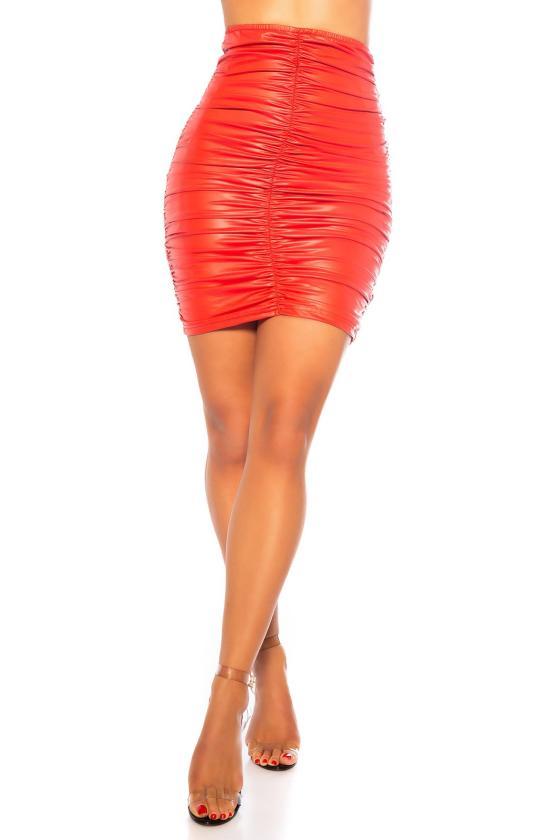 Juodos spalvos megzta suknelė CUT-OUT_242300