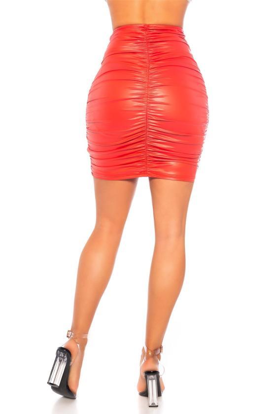 Juodos spalvos megzta suknelė CUT-OUT_242302