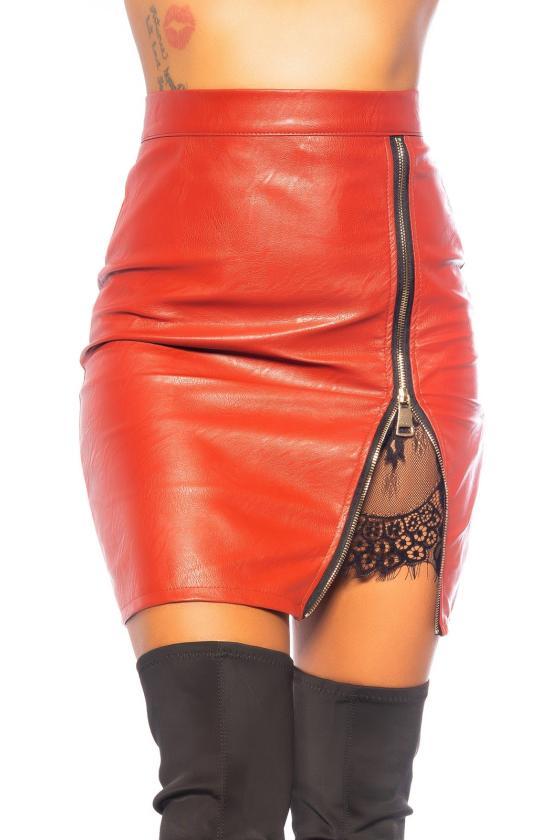 Bordinės spalvos laisvalaikio kostiumas SUEDE LOOK_242381