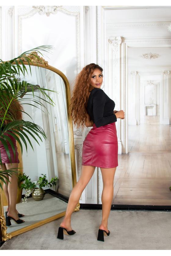 Baltos spalvos megztinis ROCK N ROLL_242399
