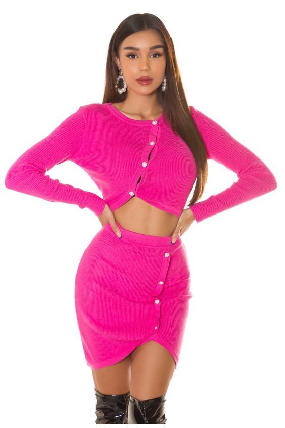 Elegantiška juoda suknelė su V formos iškirpte_242493